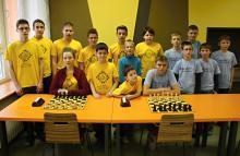 Celá výprava Sokola Ústí společně s oběma týmy ŠKZ Vsetín (foto: Josef Kovařík)