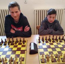 Matěj a Toník skončili oba s 3,5 body.